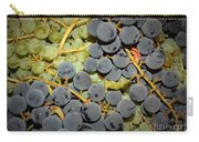 Backyard Garden Series - Grapes And Vines Carry-all Pouch