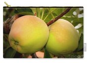 Backyard Garden Series - Two Apples Carry-all Pouch