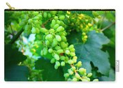Backyard Garden Series - Young Grapes Carry-all Pouch