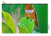 Backyard Hummingbird #22 Carry-all Pouch