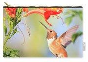 Backyard Hummingbird Series # 54 Carry-all Pouch