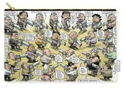 Bad Guys Watch Out Carry-all Pouch