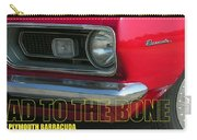Bad To The Bone Carry-all Pouch