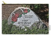 Badger Rose Bowl Win 1999 Carry-all Pouch