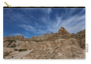 Badlands View From A Trail Carry-all Pouch