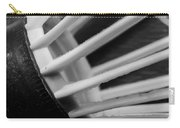 Badminton Shuttlecock Abstract Monochrome Carry-all Pouch