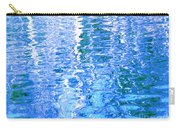 Baffling Blue Water Carry-all Pouch