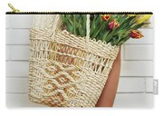 Bag With A Bouquet Of Tulips Carry-all Pouch