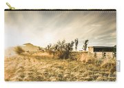 Bagdad Crisp Winter Countryside Carry-all Pouch