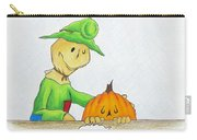 Baggs And Boo Canned Pumpkin Carry-all Pouch