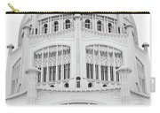 Bahai Black And White 1 Carry-all Pouch