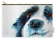 Bailey Our Border Collie Carry-all Pouch