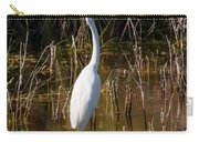 Bailey Tract Egret Two Carry-all Pouch