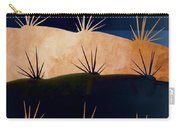 Baja Landscape Number 1 Square Carry-all Pouch by Carol Leigh
