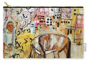 Balaams Donkey Sees The Angel 201762 Carry-all Pouch