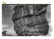 Balanced Rock Monochrome Carry-all Pouch