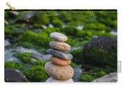 Balancing Zen Stones By The Sea II Carry-all Pouch