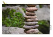 Balancing Zen Stones Carry-all Pouch