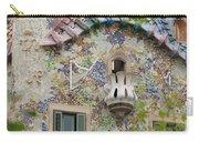 Balcionies Of Casa Batllo In Barcelona, Spain Carry-all Pouch
