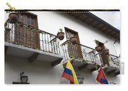 Balconies And Flags Carry-all Pouch