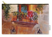 Balcony In Bloom Carry-all Pouch