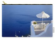 Balcony Over The Sea Carry-all Pouch