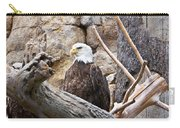 Bald Eagle - Portrait Carry-all Pouch