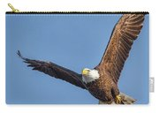 Bald Eagle And Fish Carry-all Pouch