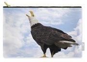 Bald Eagle Art - Speak Your Voice Carry-all Pouch