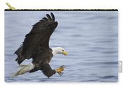 Bald Eagle At Ready Carry-all Pouch