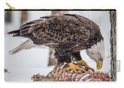 Bald Eagle At The Buffet Carry-all Pouch