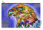 Bald Eagle Face Carry-all Pouch