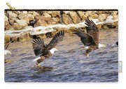 Bald Eagle Fishing Pano Carry-all Pouch