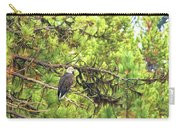 Bald Eagle In A Pine Tree, No. 5 Carry-all Pouch