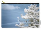 Bald Eagle In Infrared Carry-all Pouch by Brian Hale