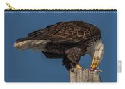 Bald Eagle Lunch Carry-all Pouch