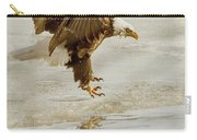 Bald Eagle Series #1 - Eagle Is Landing Carry-all Pouch