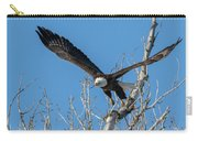 Bald Eagle Shows Its Focus Carry-all Pouch