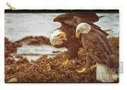 Bald Eagles Family Discussion Carry-all Pouch