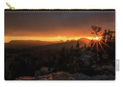 Bald Mountain Sunset Carry-all Pouch