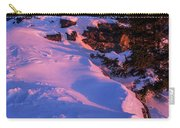 Bald Mountain Winter Sunset Carry-all Pouch