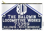Baldwin Diesel Builders Plate Carry-all Pouch