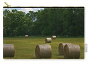 Bales In The Field Carry-all Pouch