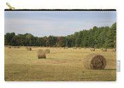 Bales Of Hay Carry-all Pouch