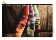 Bali Beach Surf Holiday Scene Carry-all Pouch