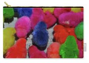 Bali Coloured Chicks Close-up Carry-all Pouch