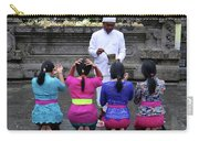 Bali Temple Women Blessing Carry-all Pouch