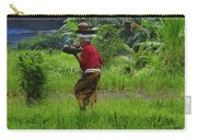 Balinese Lady Carrying Pot Carry-all Pouch
