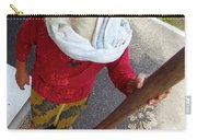 Balinese Lady Grinding Coffee Carry-all Pouch