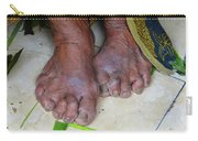 Balinese Lady's Feet Carry-all Pouch